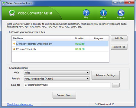 Video Converter Assist Download