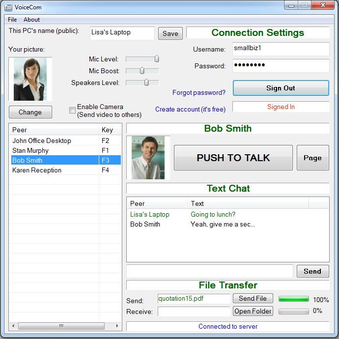 VoiceCom v3 Download