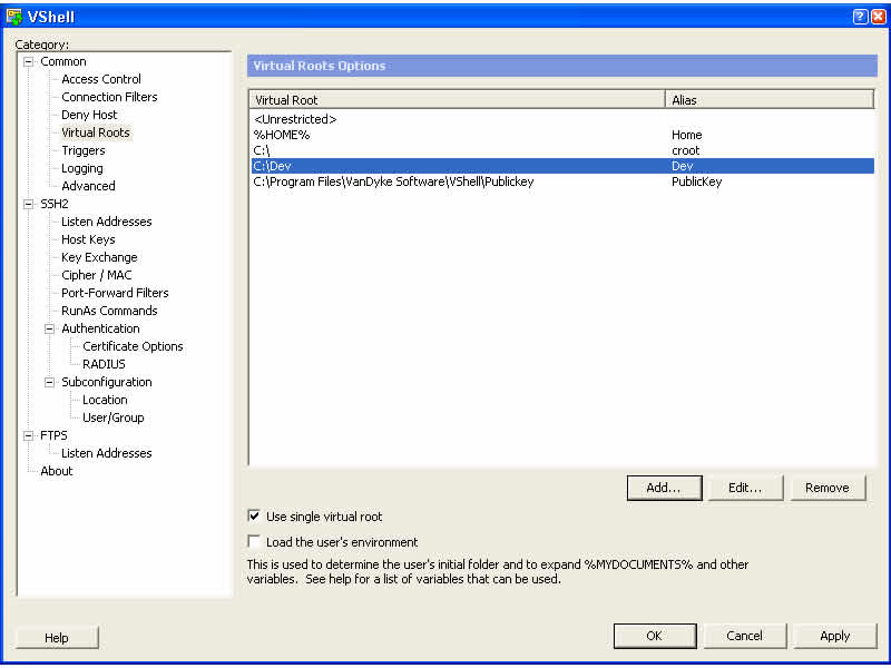 VShell Server for Windows Download