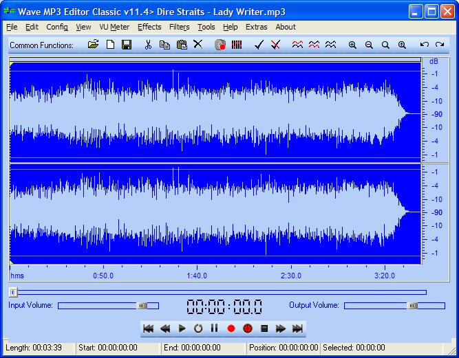 Wave MP3 Editor Classic Freemium Download