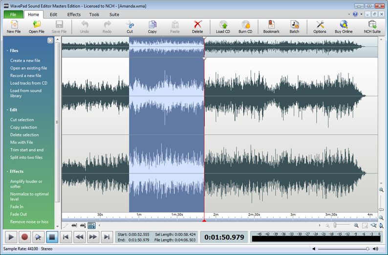 WavePad - Audio Editing Software Download
