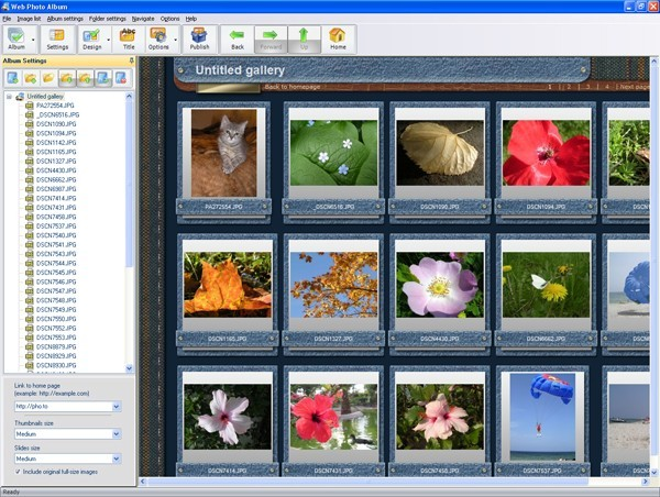 Web Photo Album Download