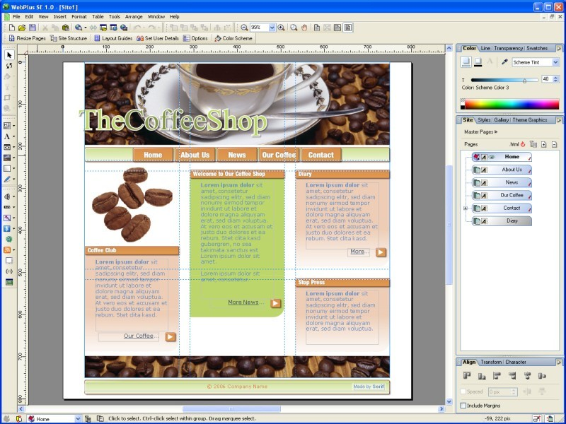 Download photo design tool for Website planning tool