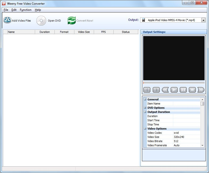 Weeny Free Video Converter Download