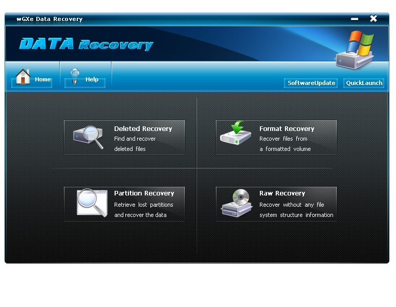 wGXe Data Recovery Download