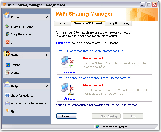WiFi Sharing Manager Download