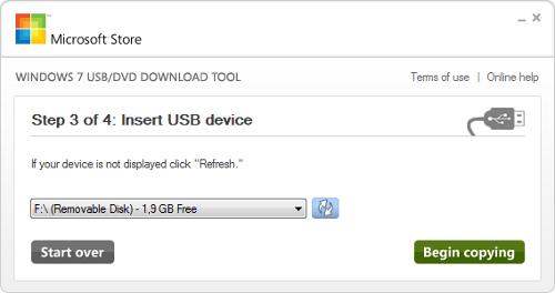 Windows 7 USB/DVD Download Tool Download