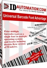 Windows Universal Barcode Font Download