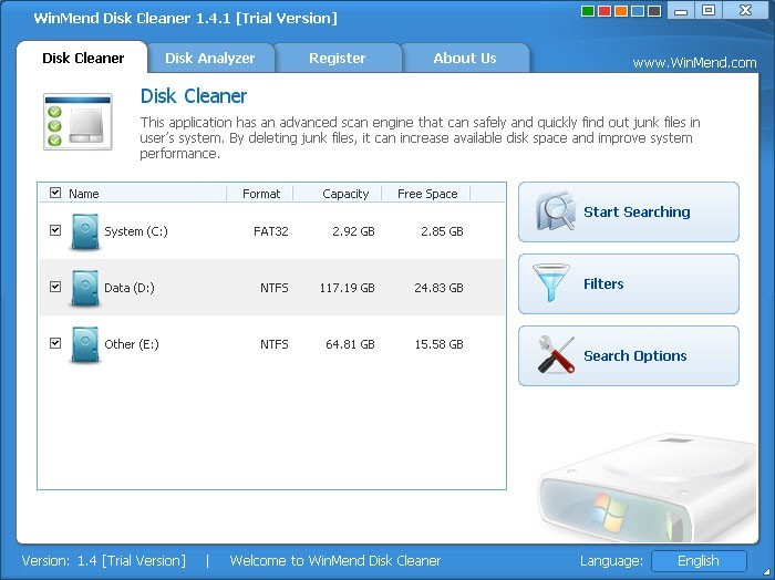 WinMend Disk Cleaner Download
