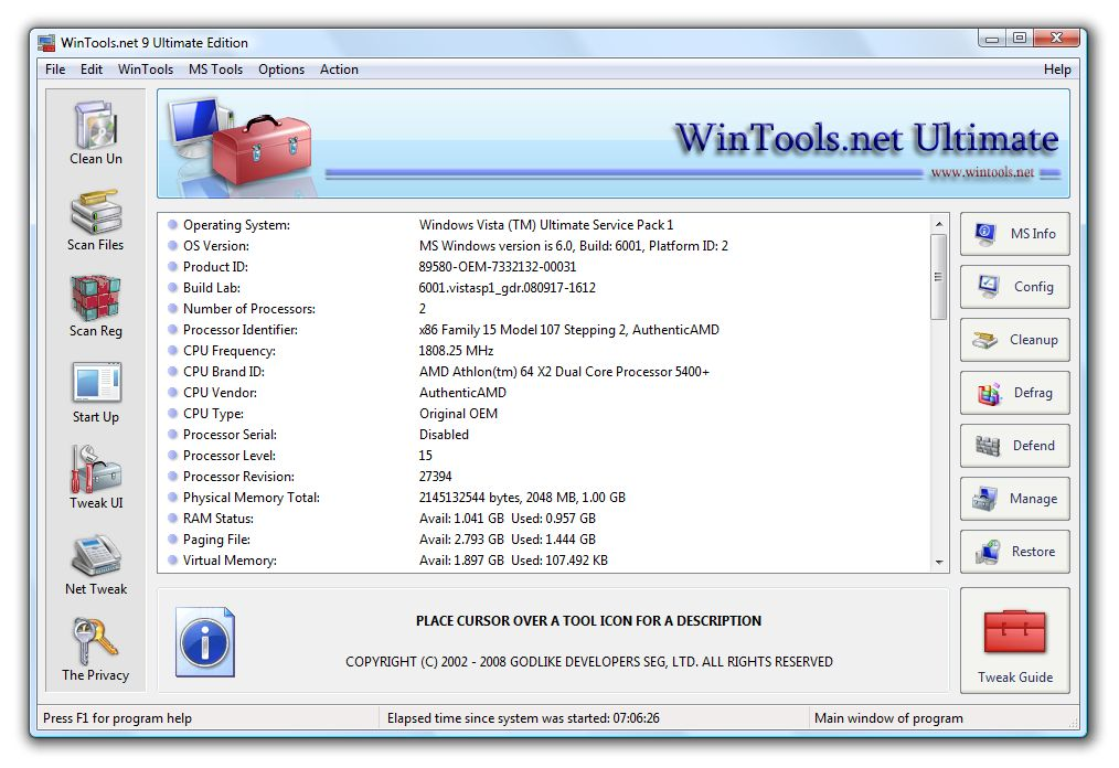 WinTools.net Ultimate Edition Download
