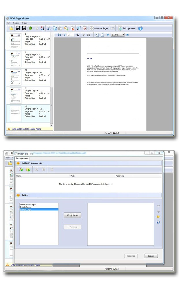 pdf page numbering software free download