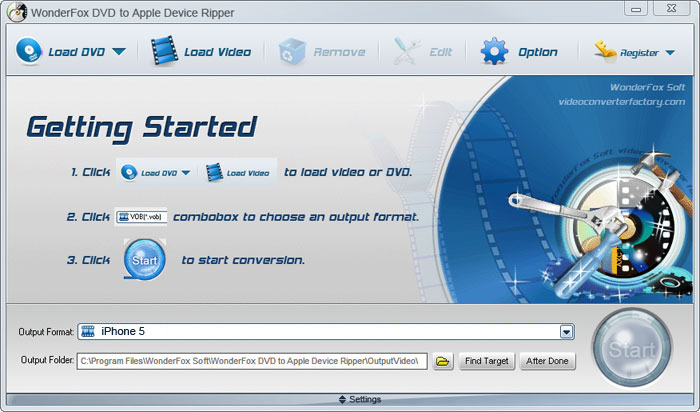 WonderFox DVD to Apple Device Ripper Download