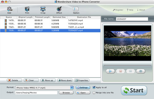 Wondershare Video to iPhone 3G Converter for Mac Download