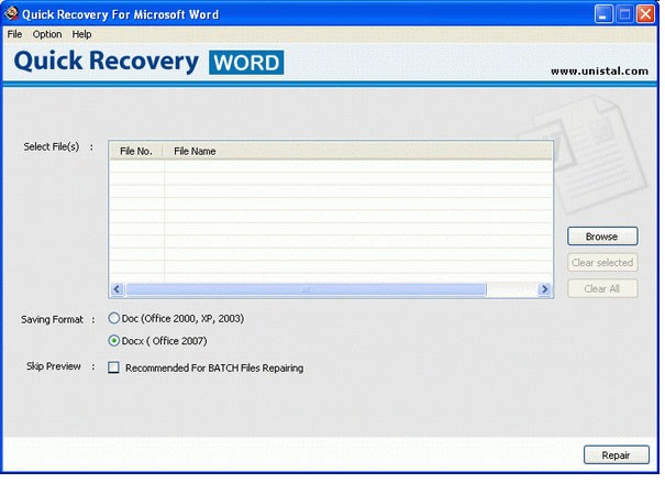 Word File Recovery Download
