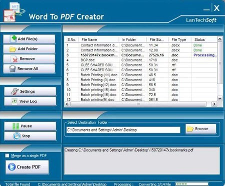 Word To PDF Creator Download