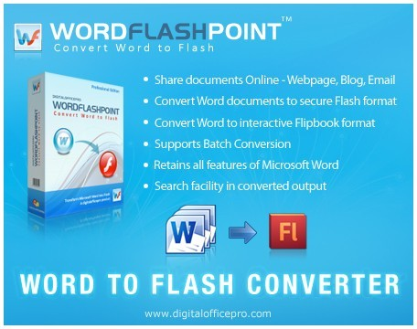 WordFlashPoint - Word to Flash Converter Download