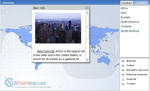 World Map in Flash Download