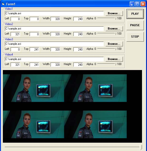 X360 Multiple Video Player ActiveX OCX Download