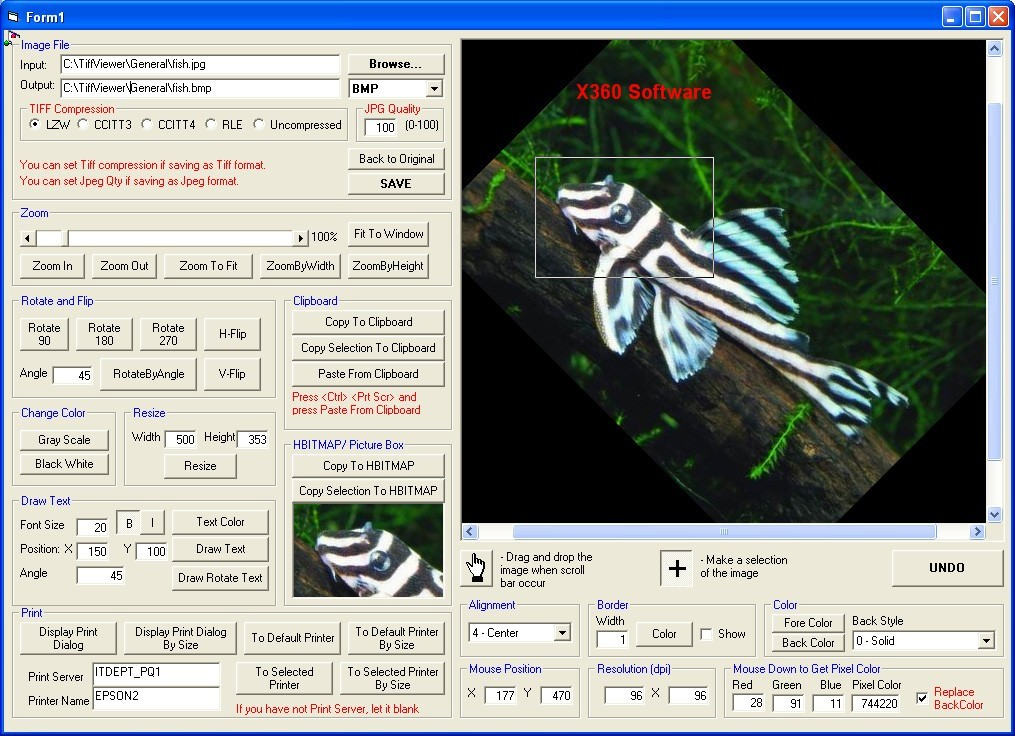 X360 Tiff Image Viewer OCX (Source Code) Download