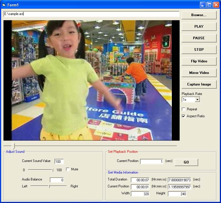 X360 Video Player Lite ActiveX OCX (Team Developer) Download