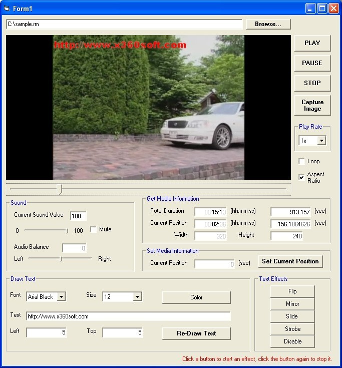 X360 Video Player OCX (Source Code) Download