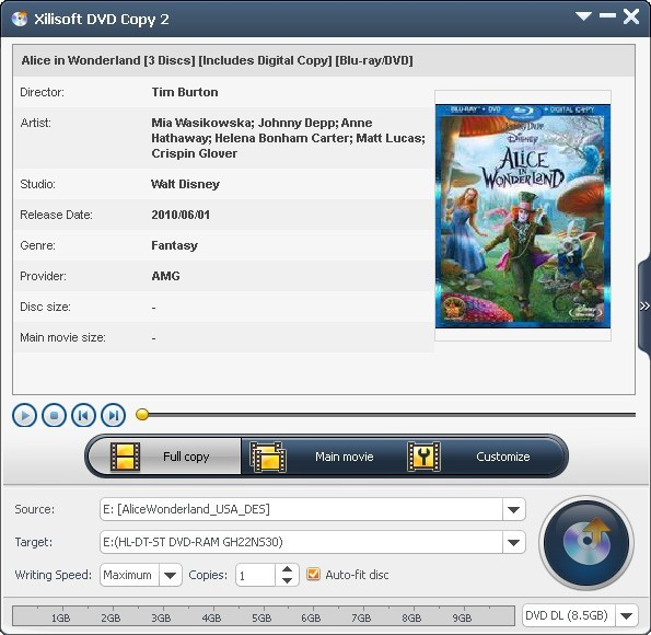 Xilisoft DVD Copy Download