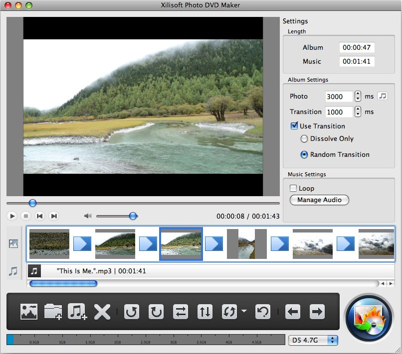 Xilisoft Photo DVD Maker for Mac Download