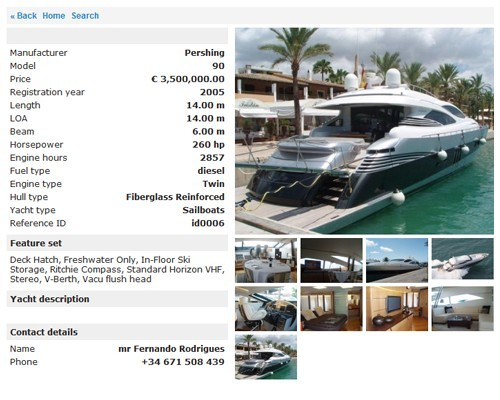 Yacht Classified Script by StivaSoft Download
