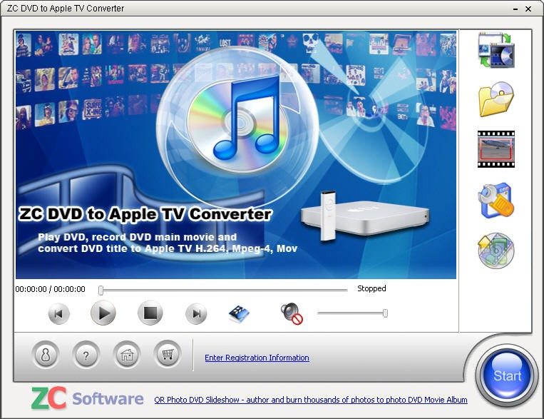 ZC DVD to Apple TV Converter Download